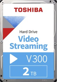 "V300 Video Streaming 2To 3.5"" SATA (BULK) Disque Dur Interne HDD Toshiba 785300137576 Photo no. 1"