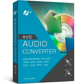 AVS Audio Converter incl. Activation-Key PC Numérique (ESD) 785300134039 Photo no. 1