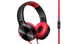 SE-MJ722T-R Cuffia On-Ear rosso