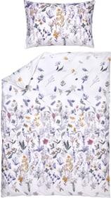 LAURA Taie d'oreiller percale 451308910910 Couleur Blanc Dimensions L: 100.0 cm x H: 65.0 cm Photo no. 1