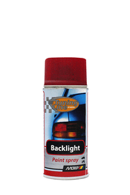 Spray per luce posteriore trasparente rossa 150 ml Vernice trasparente in spray MOTIP 620753900000 Tipo di colore rosso N. figura 1