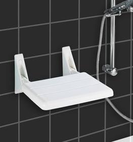 Siège de douche repliable Secura Siège de douche repliable WENKO 675093100000 Photo no. 1