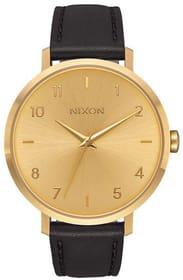 Arrow Leather All Gold Black 38 mm Orologio da polso Nixon 785300136987 N. figura 1