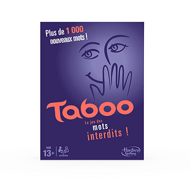 Taboo (F) Hasbro Gaming 746939490100 Lengua Francese N. figura 1