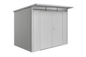 Gerätehaus AvantGarde A5, Doppeltüre Biohort 647295100000 Farbe Silber-Metallic Bild Nr. 1