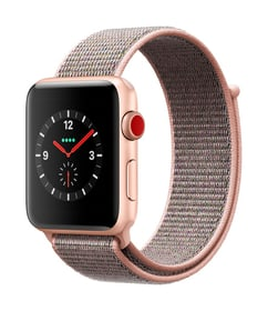 Watch Series 3 GPS/LTE 42mm gold/pinksand loop