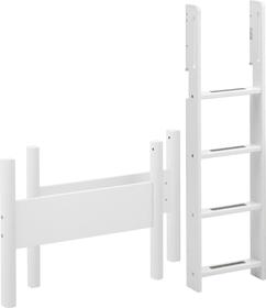 WHITE Elementi per letto rialzato medio Flexa 404748100000 Dimensioni A: 143.0 cm Colore Bianco N. figura 1