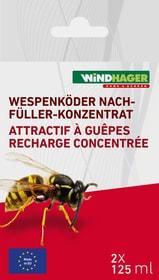 Wespenköder Nachfüller-Konzentrat, 2 x 125 ml Tierfalle Windhager 631393800000 Bild Nr. 1