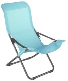 Fauteuil Relax Chaise longue Fiam 753015700068 Taille L: 106.0 cm x L: 61.0 cm x H: 98.0 cm Couleur de l'habillage Pétrole Photo no. 1