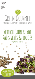 Keimlinge Rettich Grün & Rot, Mix 40g Sprossen & Keimlinge Do it + Garden 287105200000 Bild Nr. 1
