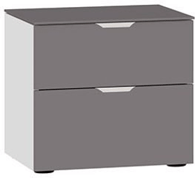 MODUL Table de chevet 404546700000 Dimensions L: 45.0 cm x P: 43.0 cm x H: 42.0 cm Couleur Gris foncé Photo no. 1