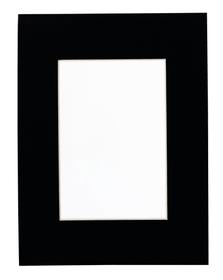 ANTATOL Passepartout 439004001320 Farbe Schwarz Grösse B: 13.0 cm x T: 0.1 cm x H: 18.0 cm Bild Nr. 1
