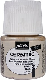 PÉBÉO Ceramic Keramikmalfarbe 30 Pearl 45ml Pebeo 663510002200 Farbe Perl Bild Nr. 1