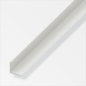 Cornière isocèle 1.5 x 20 x 20 mm PVC blanc 1 m alfer 605033200000 Photo no. 1