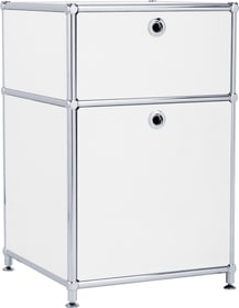 FLEXCUBE Caisson 401878700000 Dimensions L: 40.0 cm x P: 40.0 cm x H: 62.5 cm Couleur Blanc Photo no. 1
