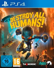 Destroy all Humans Box 785300153140 Lingua Tedesco, Italiano Piattaforma Sony PlayStation 4 N. figura 1