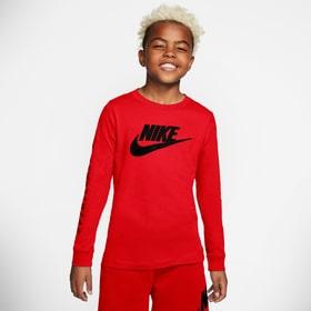 Nike Sportswear Langarmshirt Maglietta Nike 466804415230 Colore rosso Taglie 152 N. figura 1