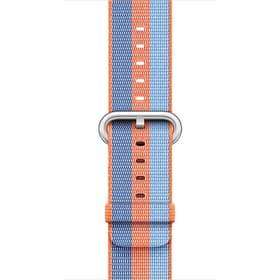 38 mm Armband aus gewebtem Nylon, Orange