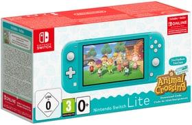 Nintendo Switch Lite turkqoise + Animal Crossing New Horizon + NSO Console Nintendo 785446900000 N. figura 1
