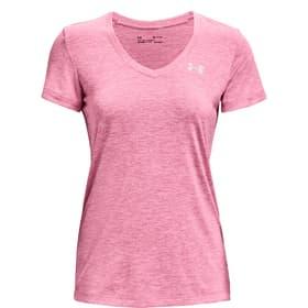 Tech SSV Twist Shirt pour femme Under Armour 468039500338 Taille S Couleur rose Photo no. 1