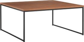 AVO Table basse 402141600000 Dimensions L: 90.0 cm x P: 90.0 cm x H: 41.0 cm Couleur Nussbaum furniert Photo no. 1