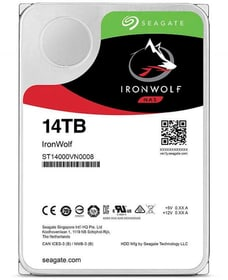 """IronWolf SATA 3.5"""" 14 TB Disque Dur Interne HDD Seagate 785300145866 Photo no. 1"""