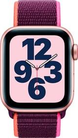 Watch SE LTE 40mm Gold Aluminium Plum Sport Loop Smartwatch Apple 785300155516 Bild Nr. 1