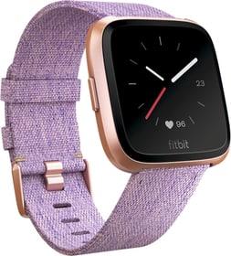 Versa - Lavender Woven/Aluminium Roségold Special Edition Smartwatch Fitbit 798433300000 N. figura 1