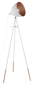 CHESTER Lampadaire 420766000000 Dimensions L: 60.0 cm x P: 60.0 cm x H: 135.5 cm Couleur Blanc Photo no. 1