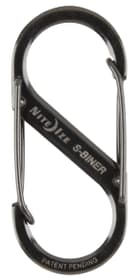 Metall S-Biner #2 schwarz Nite Ize 612131900000 N. figura 1
