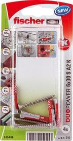 DUOPOWER 6 x 30 inkl. Schrauben A2 Universaldübel fischer 605438800000 Bild Nr. 1