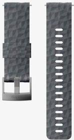 24mm Silicone Strap Graphite/Gray M bracelet Suunto 785300157657 Photo no. 1