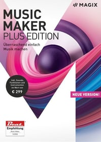 PC - Music Maker 2018 Plus Edition (D) Fisico (Box) Magix 785300129410 N. figura 1