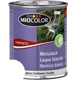 Vernice sintetica bianca lucida Bianco 125 ml Miocolor 676769700000 Colore RAL 0095 bianco Contenuto 125.0 ml N. figura 1