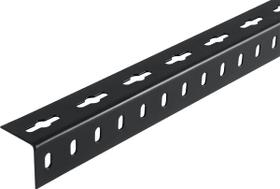 Cornière isocèle 1.5 x 35.5 mm perforé noir 2 m alfer 605037100000 Photo no. 1