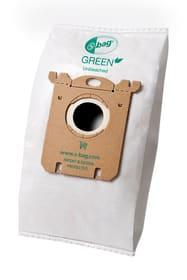 s-bag E212B GREEN sacs à poussière