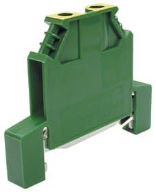 Morsetto DIN 4mm2 per terra Anschlussklemmen Wieland 612173700000 N. figura 1