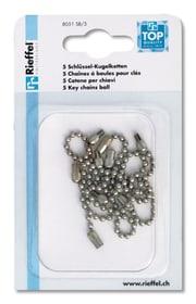 Kugelketten Schlüsselanhänger Rieffel 605607800000 Bild Nr. 1