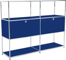 FLEXCUBE Highboard 401814820340 Grösse B: 152.0 cm x T: 40.0 cm x H: 118.0 cm Farbe Blau Bild Nr. 1