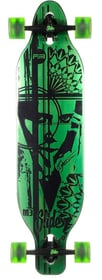 Longboard Longboard Slide 466544800060 Grösse Einheitsgrösse Farbe Grün Bild-Nr. 1
