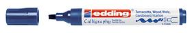 edding Kalligraphie 1455 5,0 Edding 665571600020 Farbe Stahlblau Bild Nr. 1