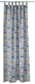 GUSTAVO tenda opaca  preconfezionata 430248600081 Colore Grigio Dimensioni L: 145.0 cm x A: 260.0 cm N. figura 1