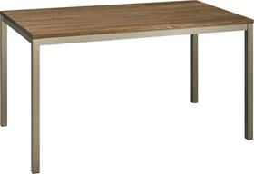ALEXIS II Table 402399515003 Dimensions L: 120.0 cm x P: 80.0 cm x H: 75.0 cm Couleur Chêne foncé Photo no. 1