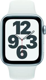 Watch SE GPS 44mm Silver Aluminium White Sport Band Smartwatch Apple 785300155475 Bild Nr. 1