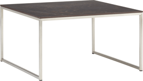 AVO Table basse 402151100000 Dimensions L: 65.0 cm x P: 65.0 cm x H: 35.8 cm Couleur Noir / Gris Photo no. 1