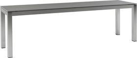 LOCARNO, 120 cm, struttura acciaio inox, piano Ceramica Panca 753193312082 Taglio L: 120.0 cm x L: 35.0 cm x A: 45.0 cm Colore Basalt N. figura 1