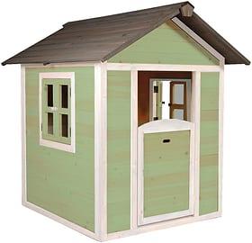 Maison d'enfant Lodge vert/blanc