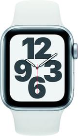Watch SE LTE 40mm Silver Aluminium White Sport Band Smartwatch Apple 785300155513 Bild Nr. 1