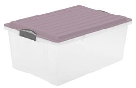 COMPACT Stapelbox 38 l mit Deckel Aufbewahrungsbox Rotho 604076400000 Bild Nr. 1