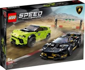 Speed 76899 Lamborghini Urus ST-X & Lamborghini Huracán Super Trofeo EVO LEGO® 74873900000019 Bild Nr. 1